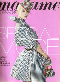 1995-03- Madame Figaro N.15726 - Patricia Pergament et Laetitia Cenaccouv-250