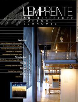 1997-03-Revue Architecte l'Empreinte N.36-Francois Lamarre-couv-250