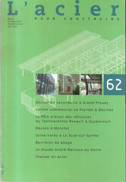 1999-05- L'acier pour construire N.62 - Bertrand Lemoinecouv-250