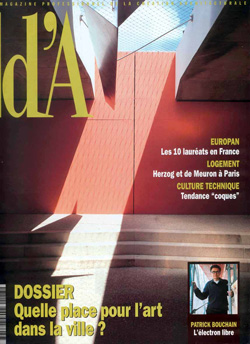 2001-09- Magazine d'architecture d'A N.113 - Francis Rambert-couv-250