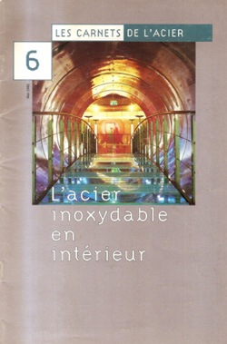 2002-03- Les carnets de l'acier N.6 - Bertrand Lemoine -couv-250